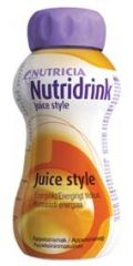 NUTRIDRINK JUICE STYLE APPELSIINI X4X200 ML