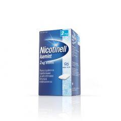 NICOTINELL ICEMINT 2 mg lääkepurukumi 96 fol